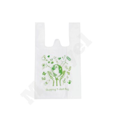 T-SHIRT STYLE NONWOVEN BAG