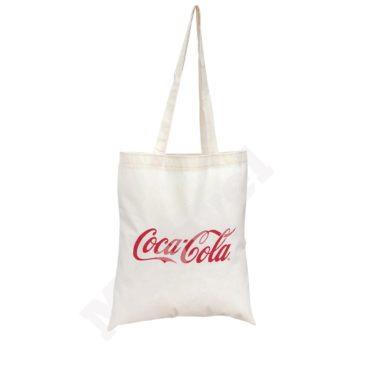 FLAT MODEL 100% NATURAL COTTON BAG – COCA COLA