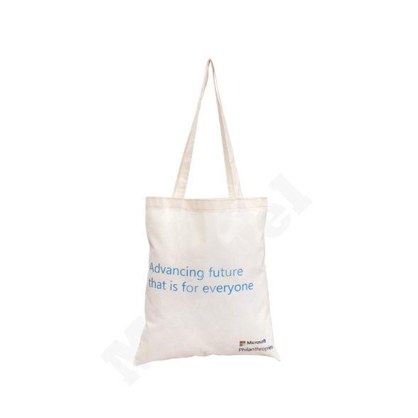 FLAT MODEL NATURAL COTTON BAG – MICROSOFT
