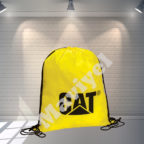 190 T POLYESTER DRAWSTRING BACKPACK - CAT