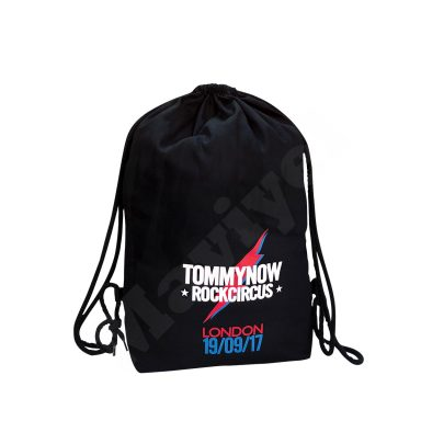 ECO FRIENDLY BLACK COTTON DRAWSTRING BACKPACK – TOMMY