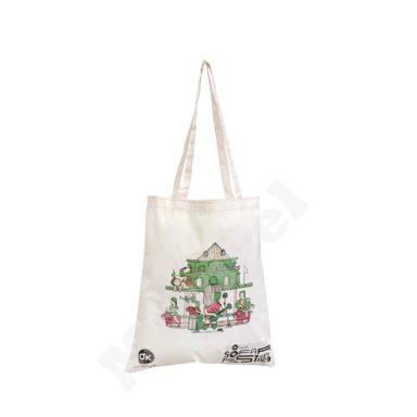 FLAT MODEL NATURAL COTTON BAG – OKEY
