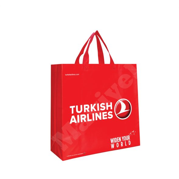 HEAT SEALED LAMINATED BAG – TURKISH AIRLINES