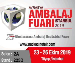 Visit Us at Eurasia Packaging Fair 2019